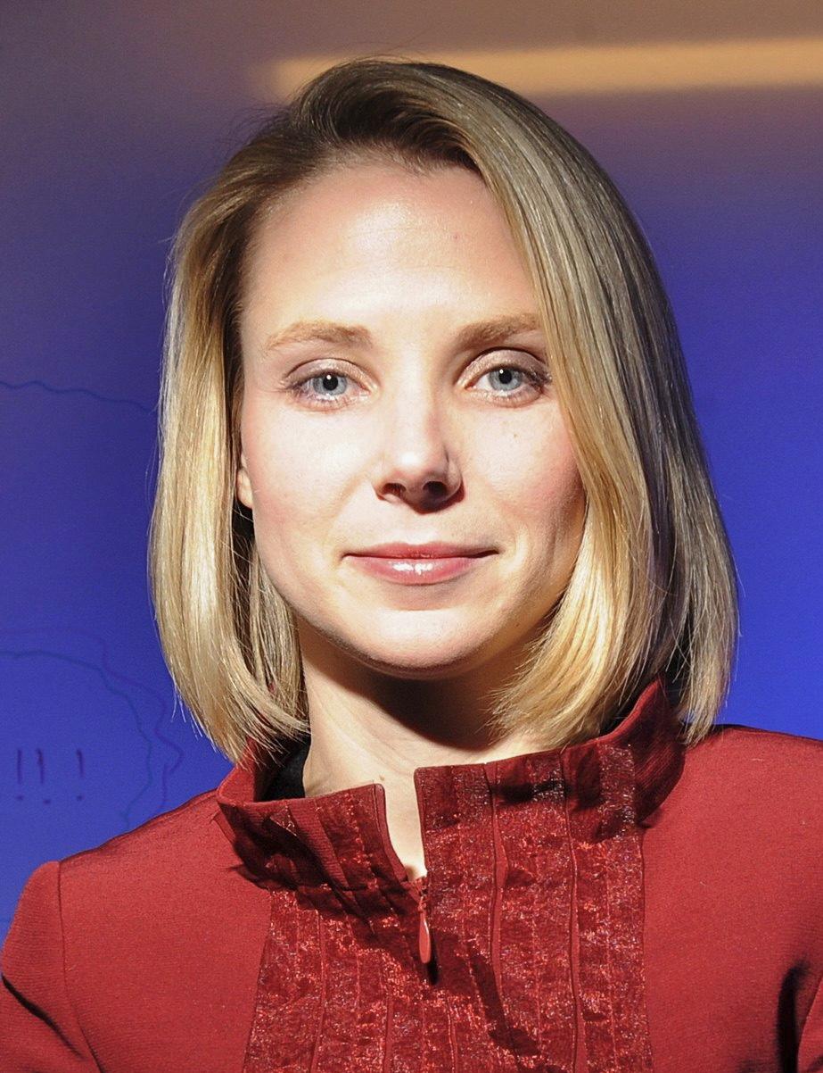 Marissa Mayer, woman and leader